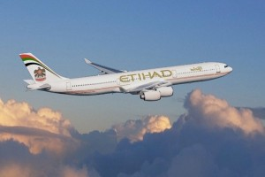 Etihad A340-500 Aircraft.  (PRNewsFoto/Etihad Airways)